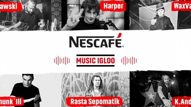 NESCAFÉ Music Igloo