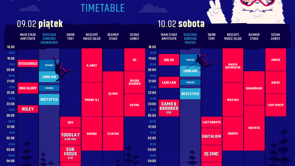 Timetable2018
